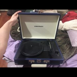 Blue Record Player (Crowley)